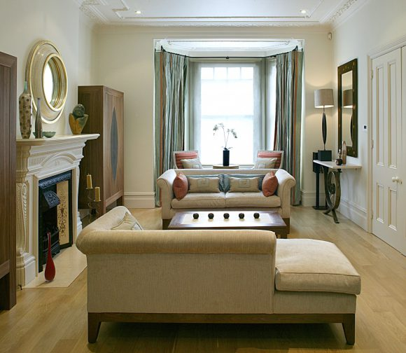 Belsize Park as Featured in 25 Beautiful Homes Classic & contemporary residential interior design London. Hélène's projects cover London.
