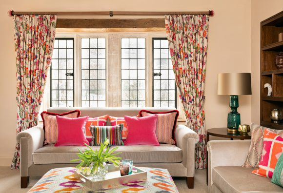 Cotswold Manor House Part 1 Classic & contemporary residential interior design London. Hélène's projects cover London and its surrounding counties.